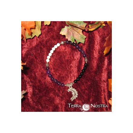 Moon ritual prayer beads