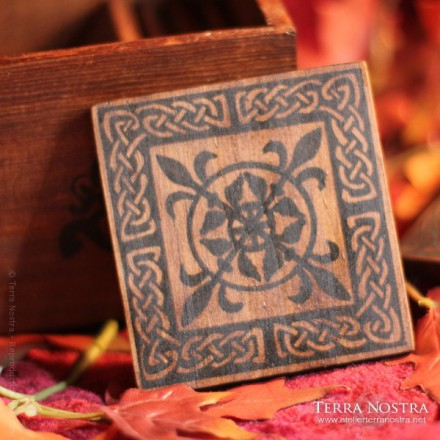 """Celtic Spirit"" coasters set"