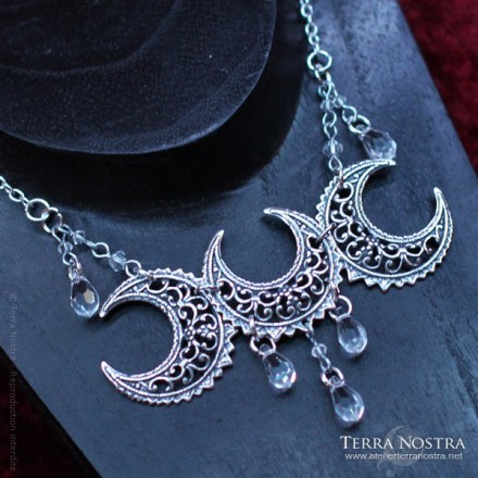 """Moon Celebration"" Diadem/necklace"