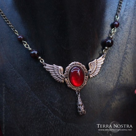 """Angel's blood"" Necklace"