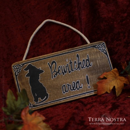 """Plaque murale """"Bewitched Area"""""""