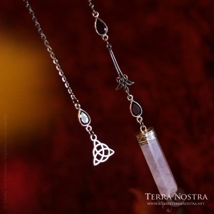 """Serka"" faceted pendulum"