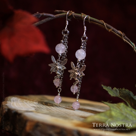"""Winter Faery"" earrings"